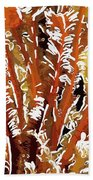 Beautiful Marine Plants 8 Beach Towel by Lanjee Chee