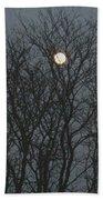 Beautiful Moon Beach Towel