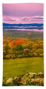 Beautiful Overview Of New Hampshire Beach Towel