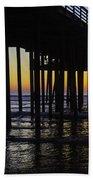 Beautiful Pismo Beach Sunset Beach Towel