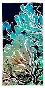 Beautiful Sea Fan Coral 1 Beach Towel