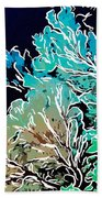 Beautiful Sea Fan Coral 1 Beach Towel by Lanjee Chee