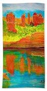 Beautiful Sedona Beach Towel