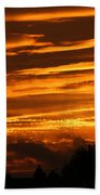 Beautiful Sunset Beach Towel