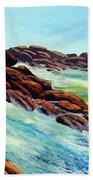 Beautiful Surf Beach Towel