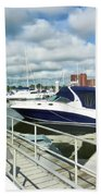 Beautiful View On The Elizabeth 7 Beach Towel by Lanjee Chee