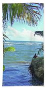 Beautiful Waters Of Puerto Rico Beach Towel