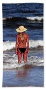 Beauty And The Beach Beach Towel