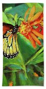 Beauty Attracts Beach Towel