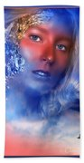 Beauty In The Clouds Beach Towel