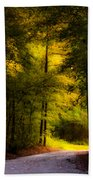 Beauty In The Forest Beach Towel