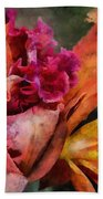 Beauty Of An Orchid Beach Towel