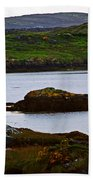 Beauty On The Rocks Beach Towel