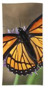 Beauty With Wings Beach Towel