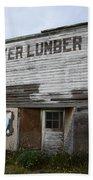 Beaver Lumber Company Ltd Robsart Beach Towel