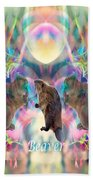 Beaver Moon Beach Towel