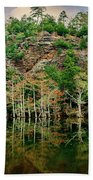 Beaver's Bend Overlook Beach Towel