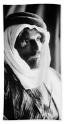 Bedouin Man, C1910 Beach Towel