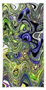 Bedtime Color Abstract Beach Towel