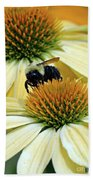 Bee Buzzer Beach Towel