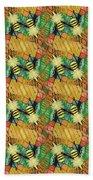 Bee Kind  Morph#2 Beach Towel