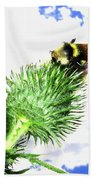 Bee-line 4 Beach Towel