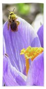 Bee Pollen Beach Towel
