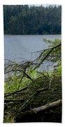 Beecraigs Loch. Beach Towel