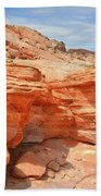 Beehives Above Wash 3 In Valley Of Fire Beach Towel