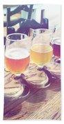 Beer Flight Beach Sheet