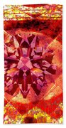 Behold The Jeweled Eye Of Blood Beach Towel