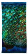 Being Yourself - Peacock Art Beach Towel