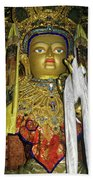 Bejeweled Buddha Beach Towel