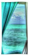 Belize Curtains #1 Beach Towel