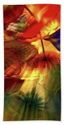 Bellagio Ceiling Sculpture Abstract Beach Towel