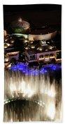 Bellagio Hotel Fountain Beach Towel
