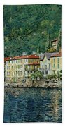 Bellano On Lake Como Beach Sheet