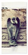 Bellefontaine Angel Polaroid Transfer Beach Sheet