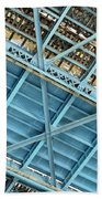 Below The Bridge Beach Towel