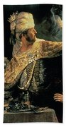Belshazzars Feast Beach Towel by Rembrandt