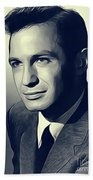 Ben Gazarra, Vintage Actor Beach Towel