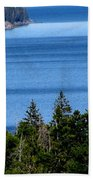 Bend In Columbia Beach Towel