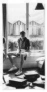 Benjamin Britten Beach Towel