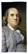 Benjamin Franklin Beach Towel by War Is Hell Store
