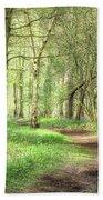 Bentley Woods, Warwickshire #landscape Beach Towel