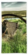 Bereft On The Grasslands T Beach Towel