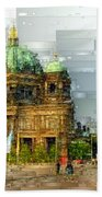 Berlin Cathedral Beach Towel
