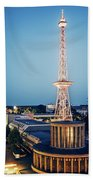 Berlin - Funkturm Beach Towel