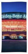 Berlin - Mercedes-benz Arena Beach Towel