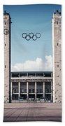 Berlin - Olympic Stadium Beach Towel